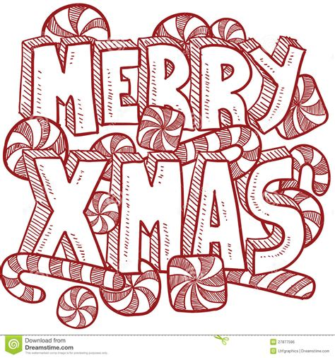 merry christmas message vector royalty free stock image image 27877596