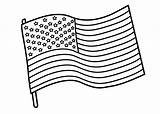 Flag Coloring sketch template
