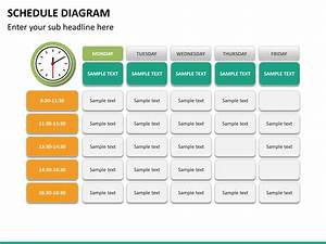 Powerpoint Schedule Diagram