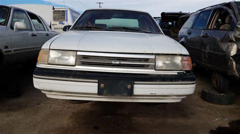 1989 Ford Tempo All Wheel Drive
