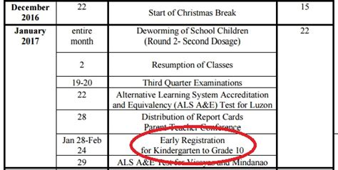 Deped Sets Learners' Early Registration Period For Sy 2017