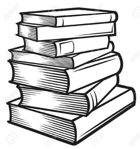 books black and white wallpaper best black and white book clipart 18182 clipartion