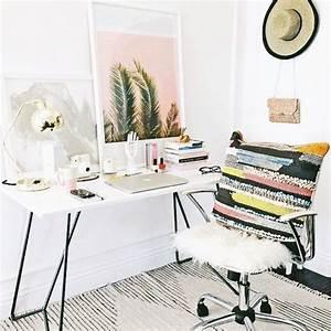 Büro Zuhause Einrichten : 18 tolle ideen wie du dein b ro zuhause sch n gestalten kannst schreibtisch pinterest ~ Frokenaadalensverden.com Haus und Dekorationen