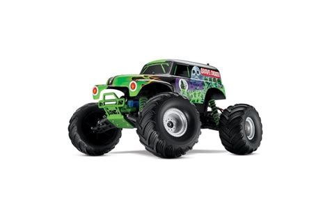 grave digger remote control monster truck traxxas monster jam grave digger xl 5 electric rc remote