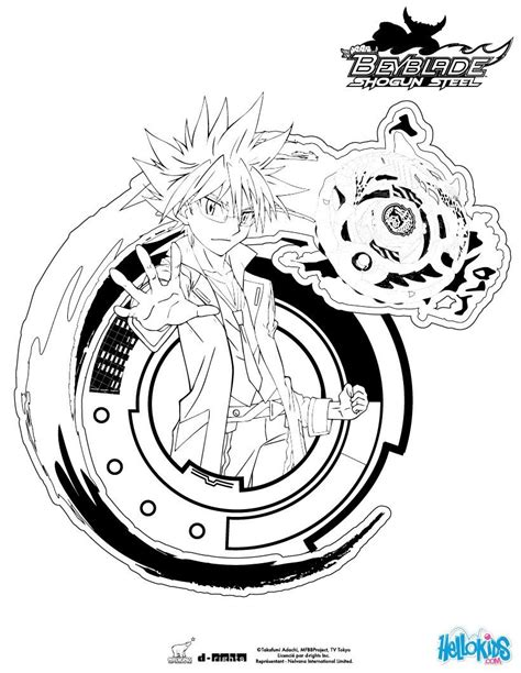 kite coloring page  beyblade content  hellokidscom