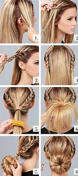 frisuren selber machen kurze haare