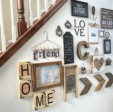 Diy Farmhouse Scrabble Wall Art Decorating Ideas  My Home