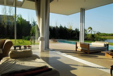 Luxurious Open Air Home Built For Two by Threshold Indoor Outdoor Agua House Interior Design Ideas
