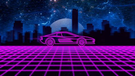 Hd Car Wallpapers For Desktop Imgur Skins Anime by Outrun Testarossa Wallpaper I Made For You Guys Outrun