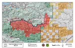 Lake Fire  East Of San Bernardino  California