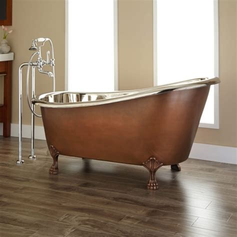 copper claw foot tub copper clawfoot tub bathtub designs