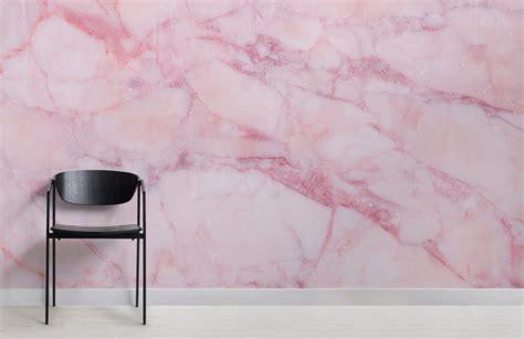 pink cracked marble wall mural murals wallpaper