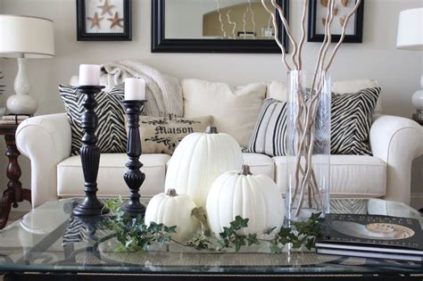 exquisite white fall decor ideas digsdigs