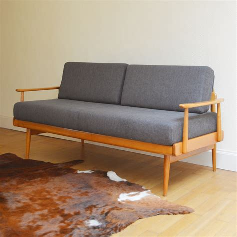 canapé scandinave sofa daybed scandinave vintage