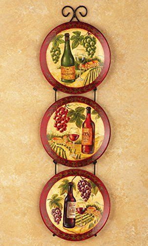 robot check plates  wall kitchen decor plates grape kitchen decor