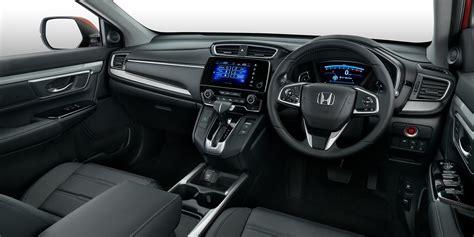 honda crv 2017 interior 2018 honda cr v pricing and specs turbo five and seven