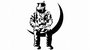 Astronaut Black Stencil Designs - Pics about space