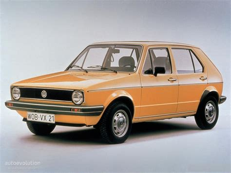 Volkswagen Golf I (5 Doors) Specs & Photos  1974, 1975
