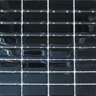 waterline tile mosaic onyx black