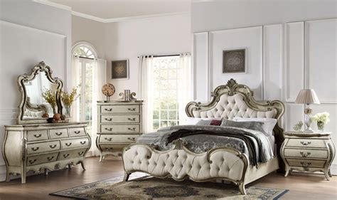 Grey Koto Bedroom Furniture by Elsmere Antique Grey Upholstered Bedroom Set From