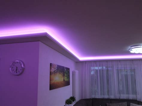 Led Beleuchtung by 1 Meter Indirekte Beleuchtung Led Lichtprofile Wand