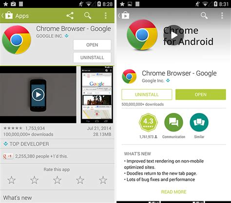 google play store redesign begins rolling   android
