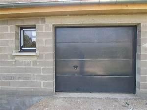 Porte De Garage Gris Anthracite : porte de garage gris anthracite chantier battigny 54 pinterest ~ Melissatoandfro.com Idées de Décoration