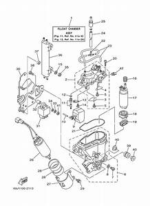 2002 Yamaha Fuel Injection Pump 1 Parts For 200 Hp