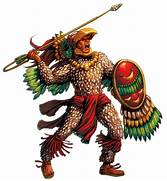 - Aztec Warriors Eagle Warrior At The Left And Jaguar Warrior At The  Aztec Eagle Warrior Drawing