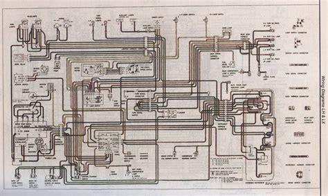 lx wiring diagram general lh lx uc gmh torana
