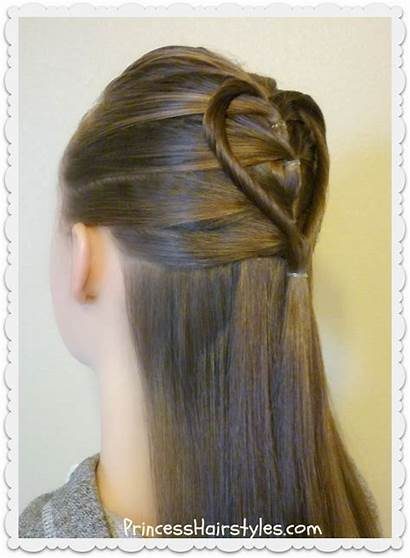 Heart Hairstyle Elastic Braid Hair Twist Hairstyles