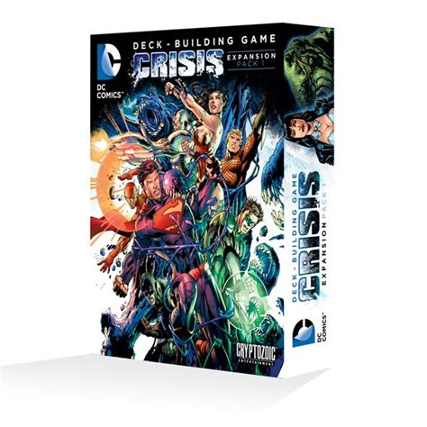 Dc Deck Building Expansion 2 by Dc Comics Deck Building Crisis Expansion Pack 1