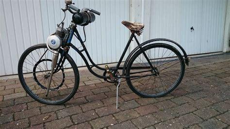 fahrrad mit hilfsmotor adler oldtimer fahrrad mit rex hilfsmotor aus den 50ern moped und mofa pur leben mit wind