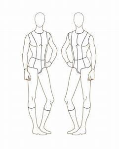 Fashion Design Sketches: Female Figure Template