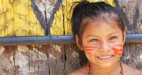 Stock Video Of Cute Native Brazilian Girl Looking To