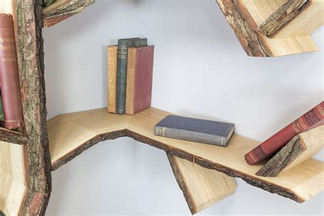 A Corner Shelf Tree Design By Bespoak