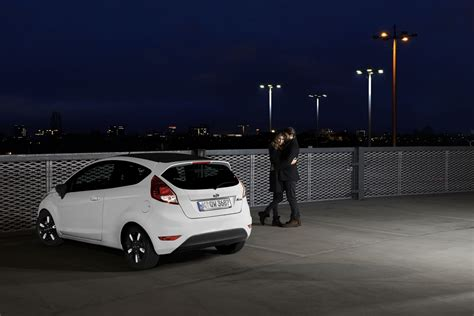 ford introduces black  white editions   fiesta