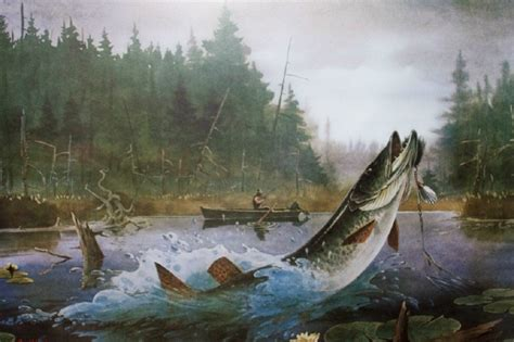Boat Angel Wisconsin by Muskiefirst Artwork 187 General Discussion 187 Muskie Fishing