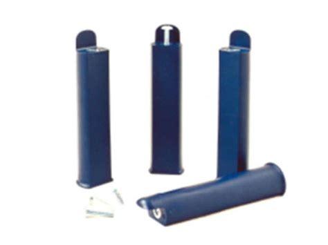pied de lit conforama jeu de 4 pieds h22 cm coloris bleu vente de pied de lit conforama