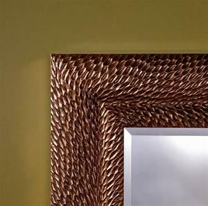 Deco Couleur Cuivre : miroir d co design cuivre patin miroir d coration ~ Teatrodelosmanantiales.com Idées de Décoration