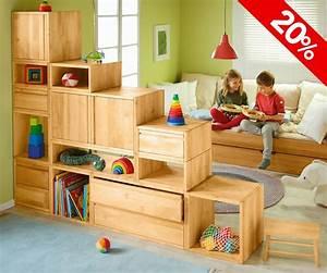 Spielzeug Aufbewahrung Kinderzimmer : biokinder aufbewahrung 3 ~ Whattoseeinmadrid.com Haus und Dekorationen
