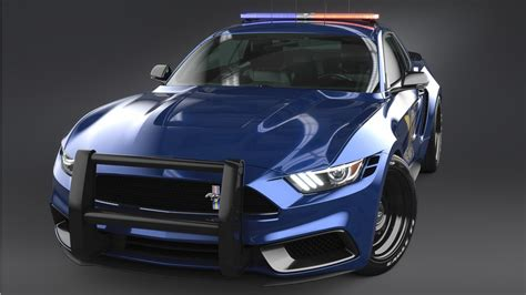2017 Ford Mustang Notchback Design Police 3 Wallpaper