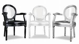 Chaise De Bar Avec Accoudoir : fauteuil m daillon avec dossier plexi transparent et accoudoirs polka mobilier moss ~ Teatrodelosmanantiales.com Idées de Décoration