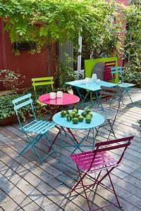 Salon De Jardin En Metal De Couleur. salon de jardin 140cm metal ...