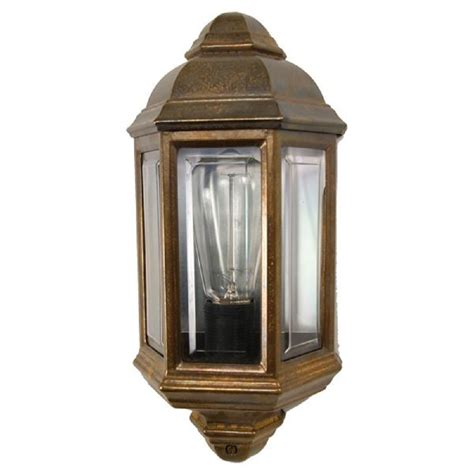 solid cast brass exterior wall light traditional fits