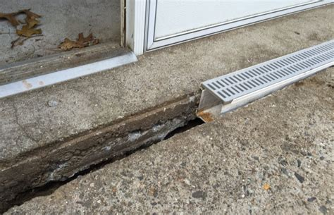q a retrofitting plastic patio drains plastic trench
