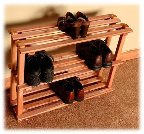 cedar shoe rack cedar 3 tier shoe rack northern kentucky cedar