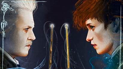 Grindelwald Fantastic Beasts Crimes 4k Poster Wallpapers
