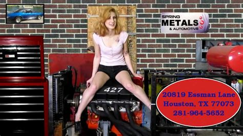 spring metals  automotive custom performance hot rod