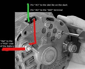 Delco Remy Alternator Diagram